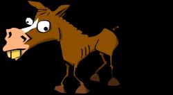 Mule clipart cute horse