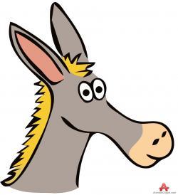Mule clipart face