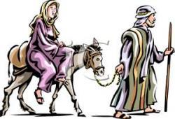 Donkey clipart mary joseph