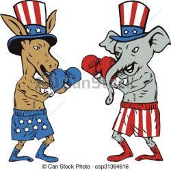 Donkey clipart mascot