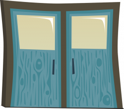 Doorway clipart cute door
