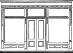 Open Door clipart kitchen window