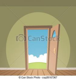 Doorway clipart house door