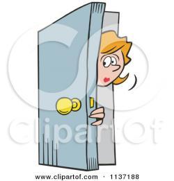 Open Door clipart opened door