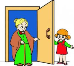 Open Door clipart random act