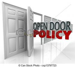 Open Door clipart open discussion
