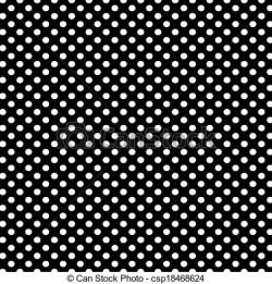 Dots clipart black background
