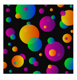 Dots clipart colorful circle