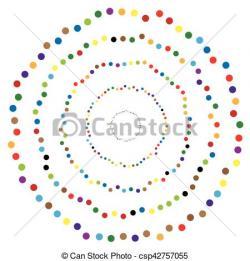 Dots clipart shape