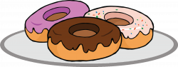 Dunkin Donuts clipart pastry