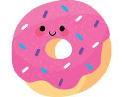 Doughnut clipart cute
