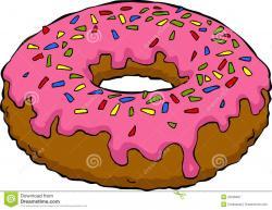 Doughnut clipart cartoon