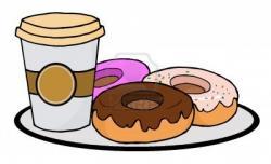 Doughnut clipart coffee and