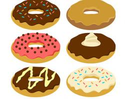 Dunkin Donuts clipart doughnut