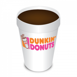Dunkin Donuts clipart coffee cup