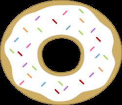 Doughnut clipart sprinkles