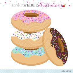 Doughnut clipart stack donut
