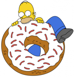 Dougnut clipart unhealthy healthy food