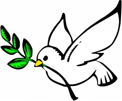 Peace Sign clipart dove