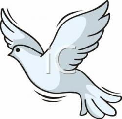Peace Dove clipart dove flying