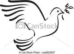 White Dove clipart burung