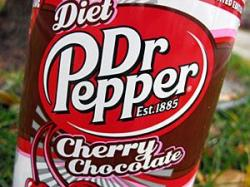 Dr Pepper clipart diet cherry