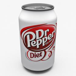 Dr Pepper clipart glass