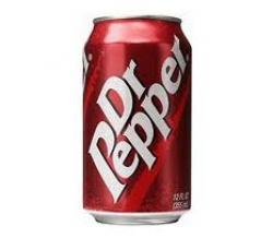 Dr Pepper clipart vector