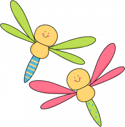 Bugs clipart dragonfly