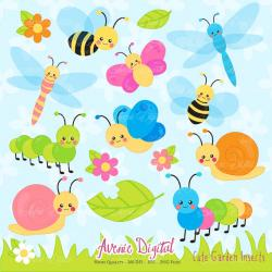 Bugs clipart printable