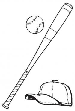 Baseball Bat clipart