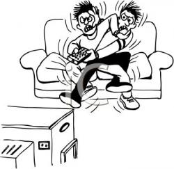 Fight clipart brother and sister