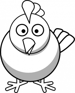 Chick clipart drawn