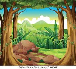 Forest clipart forest ecosystem