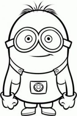 Despicable Me clipart drawn