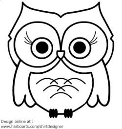 Drawn owlet cartoon