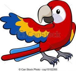 Parrot clipart beak