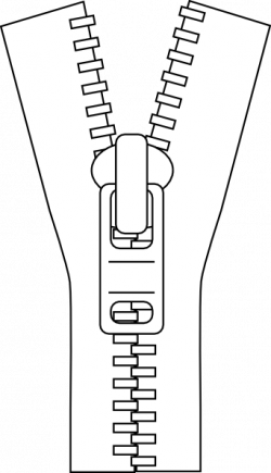 Drawn zipper