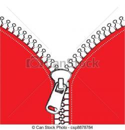 Zipper clipart cloth zip