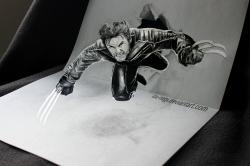 Drawn paper mind blowing