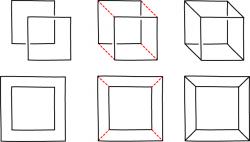 Drawn squares