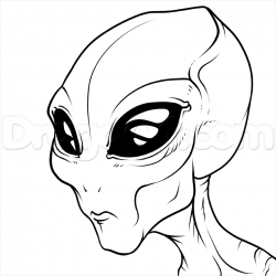 Drawn alien