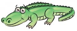 Drawn alligator