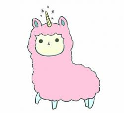 Alpaca clipart transparent