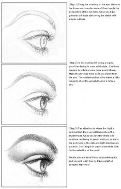 Drawn eyelash
