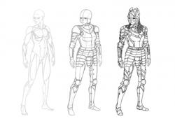 Drawn armor