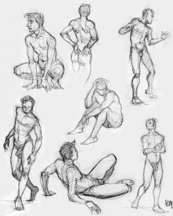 Drawn anatomy