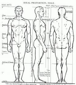 Drawn human