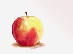 Drawn macbook hand drawn