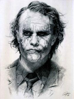 Drawn joker